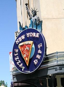 JC's New York Pizza Department Albuquerque Exterior
